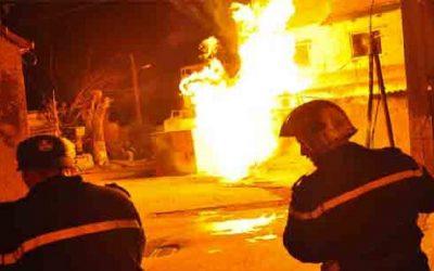 """قتيلان وجرحى ضمن حريق مقهى لـ """"الشيشة"""" بطنجة"""