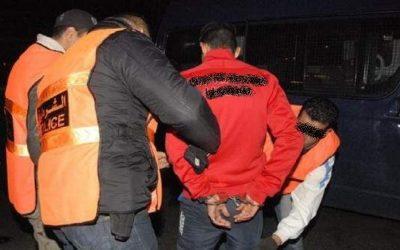 اعتقال تاجر مخدرات كان برفقة فتاة بأكادير