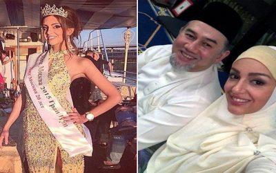 ملك ماليزيا السابق يطلق زوجته بالثلاث