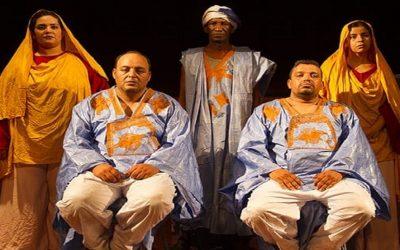 """عرض مسرحية """" خيمة تفرك عن خيمة """"ضمن مهرجان المسرح الحساني بالعيون"""