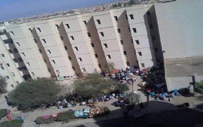 واقعة خطيرة تهز الحي الجامعي بوجدة