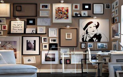 3 أفكار لاستخدام إطارات الصور في ديكور منزلك