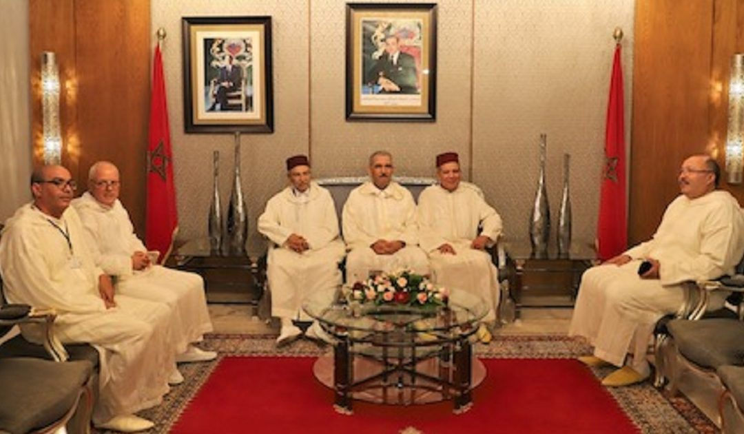 الوفد الرسمي للحجاج المغاربة يحل بأرض الوطن بعد أداء مناسك الحج لعام 1440 هـ