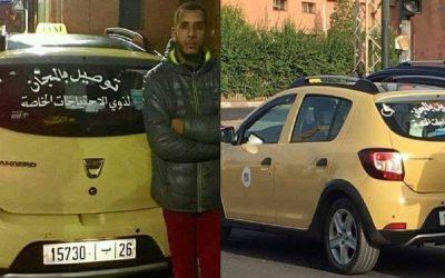 مراكش..اعتقال سائق سيارة أجرة معروف بمبادرة نقل ذوي الإحتياجات الخاصة بالمجان