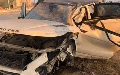 نجم فريق الرجاء البيضاوي يتعرض لحادثة سير خطيرة كادت أن تودي بحياته