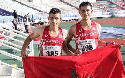 رضى العرابي وحمزة السهلي يضيفان ميداليتين إلى رصيد ألعاب القوى المغربية ضمن منافسات الألعاب الإفريقية