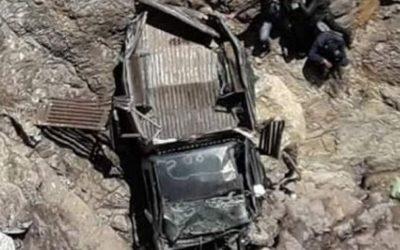 """وفاة أربعة لاعبين وإصابة 20 آخرين بجروح في حادثة سقوط """"بيكوب"""" بمنحدر نواحي إمنتانوت"""