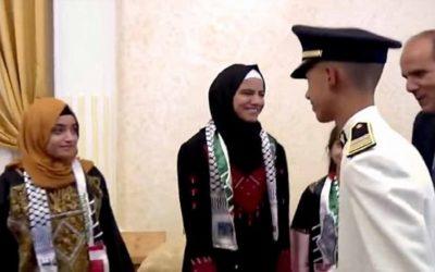 الأمير مولاي الحسن يستقبل أطفال القدس المشاركين في الدورة الـ 12 للمخيم الصيفي