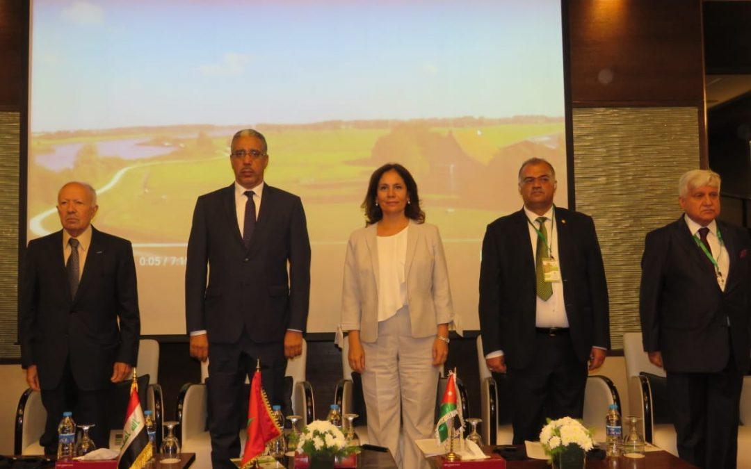 الرباح يلتقي وزيرة الطاقة العمانية .. والمغرب يحصل على رئاسة الهيئة العربية للطاقة المتجددة