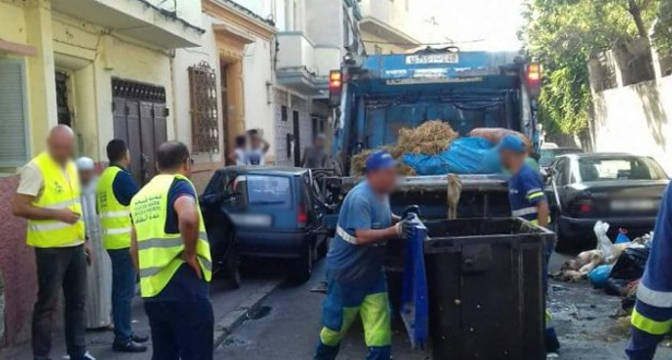 جمع أزيد من 7 آلاف طن من النفايات خلال عيد الأضحى بطنجة