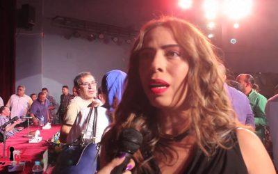 الفنانة جيهان سلامة غاضبة من مهرجان تطوان الدولي لسينما الحب والسلام