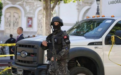 مقتل ضابط و3 إرهابيين في تبادل لإطلاق النار بتونس