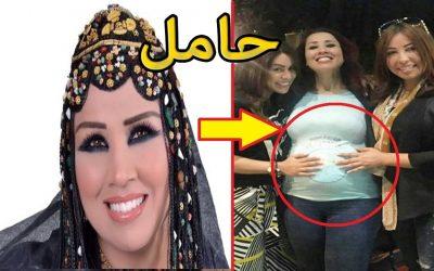 الفنانة سعيدة شرف حامل في شهرها الثالث