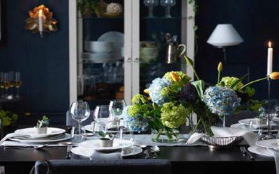 3 نصائح لتزيين مائدة الطعام بروح طبيعة