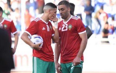 فيصل فجر يعيد نفس تصرفه مع حمد الله مع لاعب أخر بالمنتخب المغربي