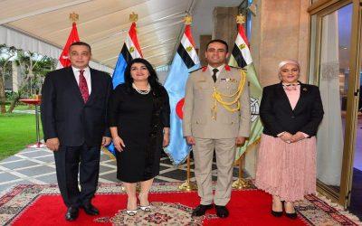ملحق الدفاع المصرى بالمغرب: انتصارات أكتوبر تعلن للعالم أن مصر عصية على الإنكسار
