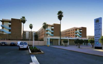 أم اربعينة تلفظ انفاسها امام الباب الرئيسي للمستشفى الجامعي محمد السادس بمراكش