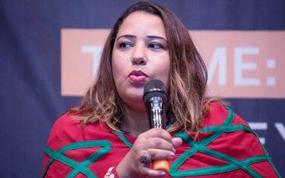 """إفريقيا تكرم المغربية """"كريمة غانم"""" ضمن قائمة الثلاثين قيادة شبابية الأكثر تأثيرا بأوروبا وإفريقيا"""