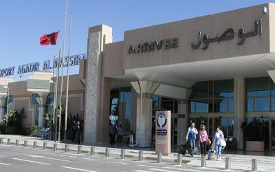 أزيد من 190 ألف مسافر استعملوا مطار أكادير في شهر واحد