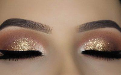 خطوات تطبيق ظلال العيون الذهبية مع الزهري كالمحترفين