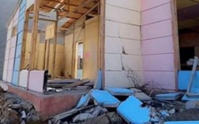 رياح قوية تتسبب في انهيار جزء كبير من مدرسة بإقليم تارودانت