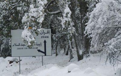 طقس بارد وتساقطات ثلجية تهم عددا من مناطق المملكة أواخر هذا الأسبوع