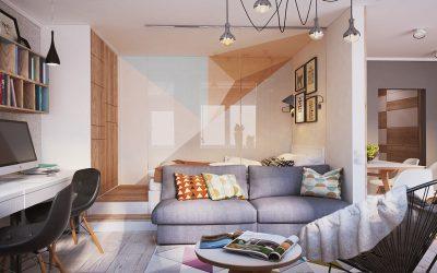 أفكار تزيد المساحة البصرية في ديكور المنزل