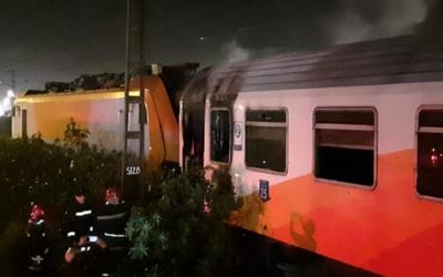 """المكتب الوطني للسكك الحديدية يكشف عن أسباب اندلاع الحريق في قطار """"لوازيس"""""""