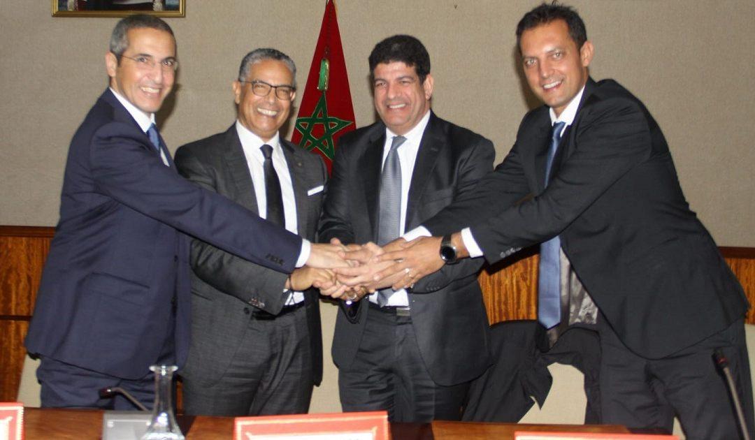 التوقيع على عقود مشروع الرحبة الريحية لبوجدور 300 ميكاواط