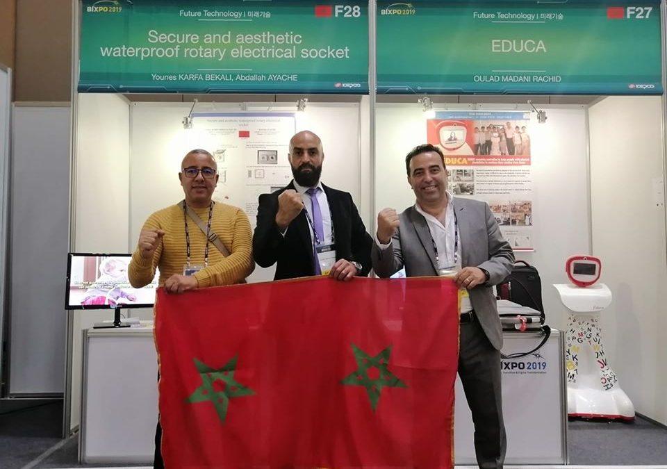"""للمرة الثانية المخترع المغربي """"البقالي"""" يحصل على ميدالية أحسن اختراع بكوريا الجنوبية"""