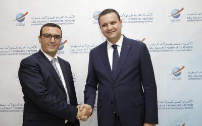 وزير الشغل والادماج المهني يزور الباطرونا لفتح باب التعاون