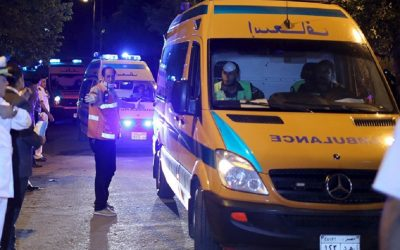 حادثة سير مروعة تسفر عن مصرع 12 شخص وإصابة 3 آخرين بمصر