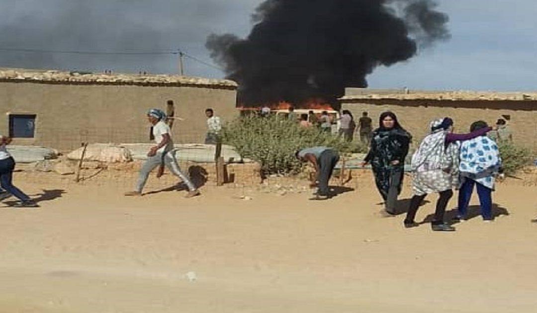 مخيمات البوليساريو تعيش على ايقاع الاحتجاجات