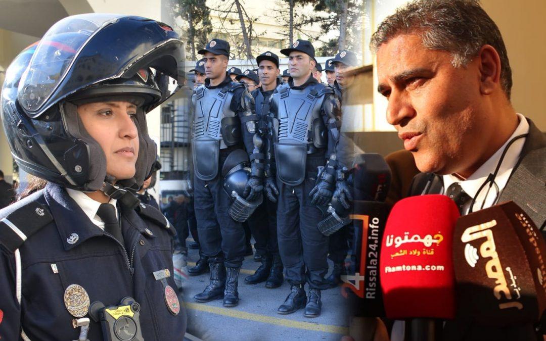 استعدادات الأمنية بولاية الدار البيضاء بمناسبة رأس السنة