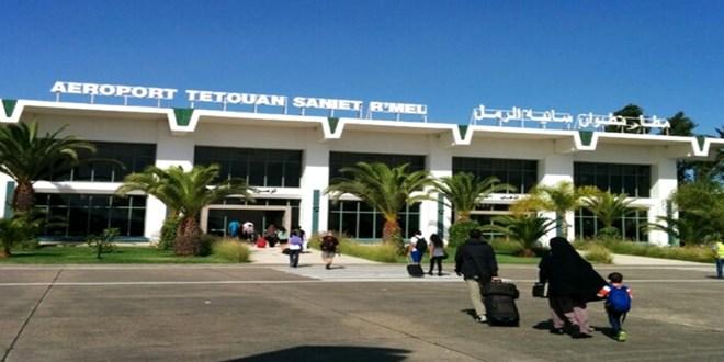 ارتفاع حركة النقل الجوي بمطار تطوان