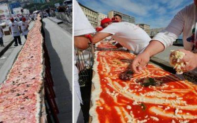 بيتزا بطول 103 أمتار