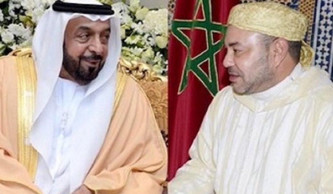 الملك محمد السادس يبعث برقية تهنئة إلى رئيس الإمارات