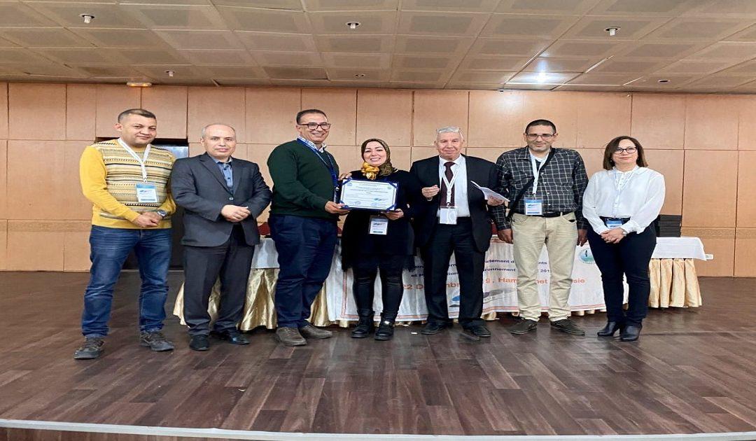 مغربية تحصل على جائزة كبرى بالمؤتمر الدولي لمعالجة النفايات