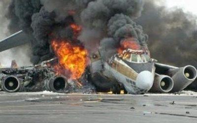 تحطم طائرة ركاب قادمة من دبي لدى هبوطها في الهند وانشطارها إلى نصفين