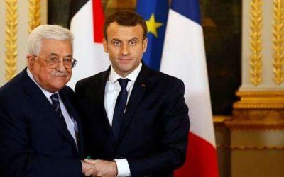 """عبّاس يؤكّد لماكرون """"أهمية الدور الفرنسي لإنقاذ عملية السلام"""""""
