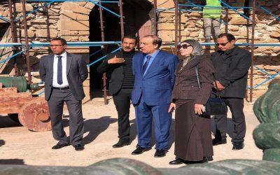 عبيابة يتفقد سير مشاريع تثمين النسيج العتيق بمدينة الصويرة