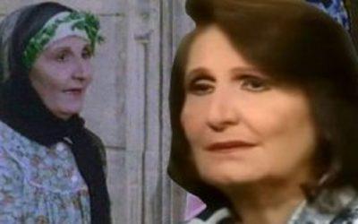 الأم الحنون في الدراما المصرية ترحل إلى دار البقاء
