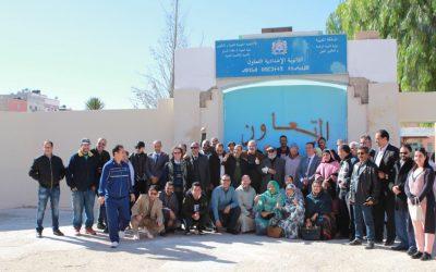 بعد اكثر من 30 سنة اساتذة قدماء يعودون لفصول الدراسة بمدينة العيون لهذا السبب