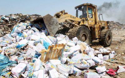 إتلاف و إرجاع أزيد من 17 ألفا طنا من المنتجات الغذائية المشكوك في سلامتها
