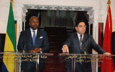 كلمة وزير الخارجي المغربي ونظيره الغابوني خلال افتتاح قنصلية الغابون بمدينة العيون