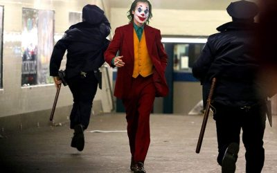 اعتقال خواكين فينيكس بطل فيلم الجوكر