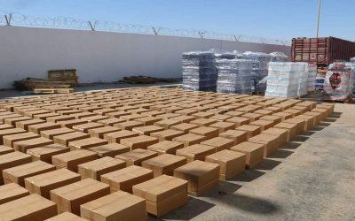 احباط عملية لتهريب سبعة اطنان من مخدر الشيرا بالنقطة الحدودية الكركرات