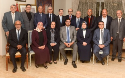 اجتماع مابين العثماني والبركة لمناقشة المنظومة الإنتخابية