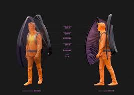 شركة صينية تعلن  إبتكار سترة للوقاية من فيروس كورونا مستوحاة من الخفافيش