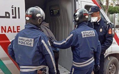 سلا .. سلاح الشرطة يوقف شخصا عرض حياة المواطنين وعناصر الأمن للخطر